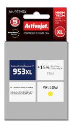 ActiveJet AH-953YRX tusz yellow do drukarki HP (zamiennik HP 953XL F6U18AE) Premium
