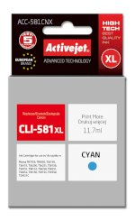 Activejet tusz do Canon CLI-581C XL new ACC-581CNX..
